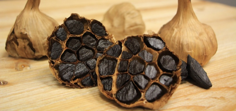 A Black Garlic a day, keeps the Skin problems and Allergies Away!